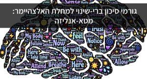 גורמי סיכון ברי-שינוי למחלת האלצהיימר: מטא-אנליזה