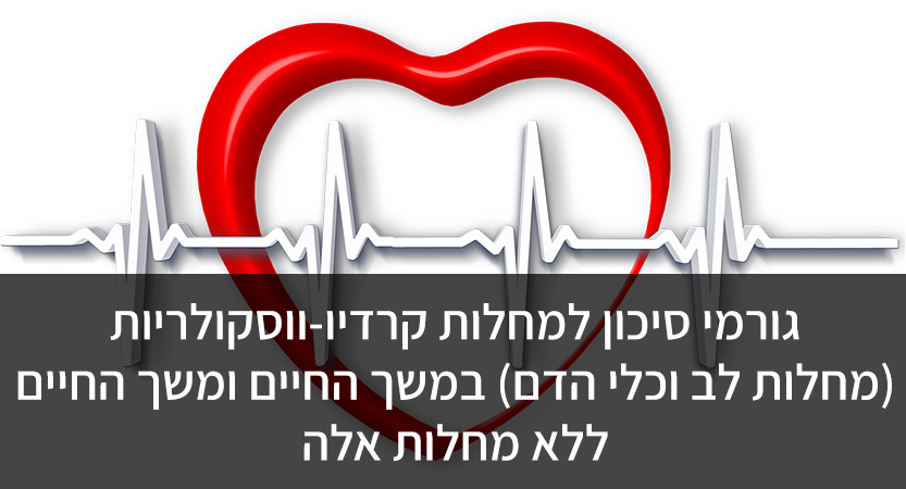 גורמי סיכון למחלות קרדיו-ווסקולריות (מחלות לב וכלי הדם) במשך החיים ומשך החיים ללא מחלות אלה