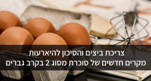 צריכת ביצים והסיכון להיארעות מקרים חדשים של סוכרת מסוג 2 בקרב גברים